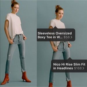 🆕 AGOLDE Nico High Rise Light Blue Skinny Jeans